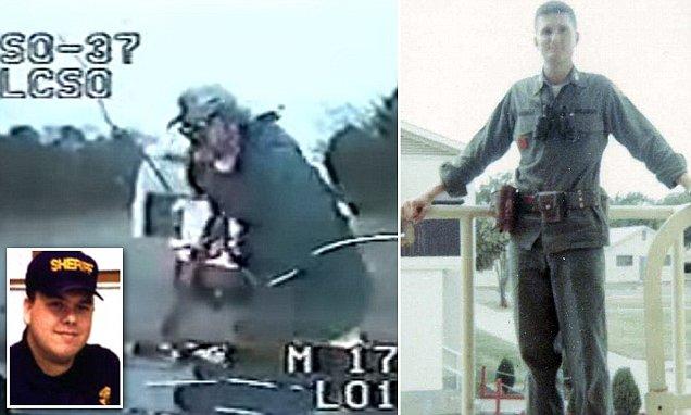 Policie Vs Vietnam veterán , Dinkheller byl zastřelen a zabit.