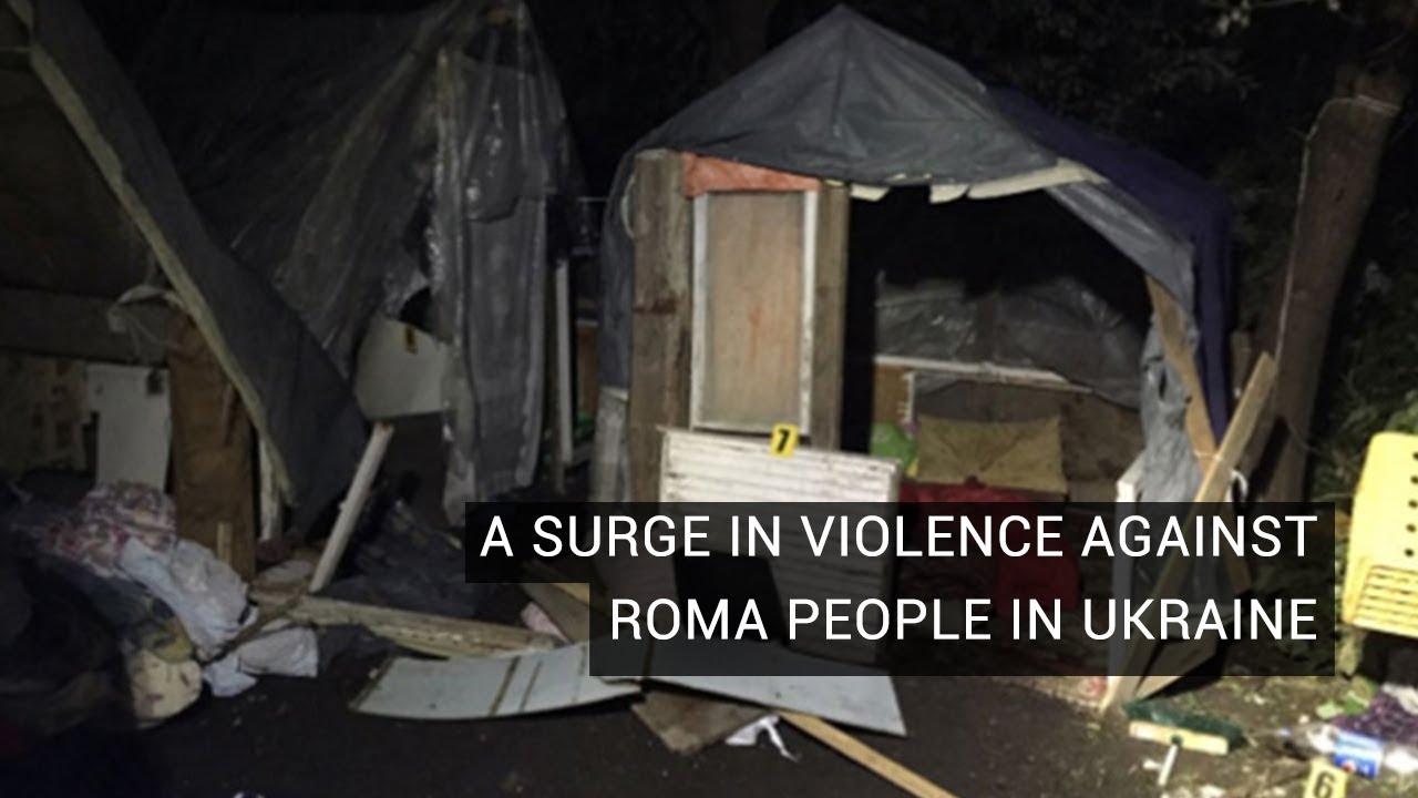 Násilí na Romech na Ukrajině