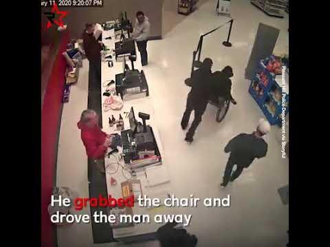 Napadení vozíčkáře ..