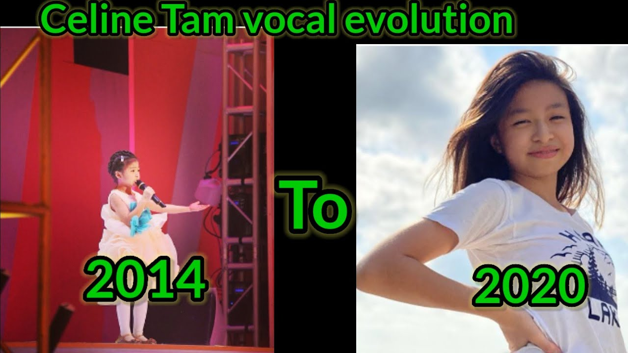 Celine Tam Vocal Evolution from 2014 to 2020