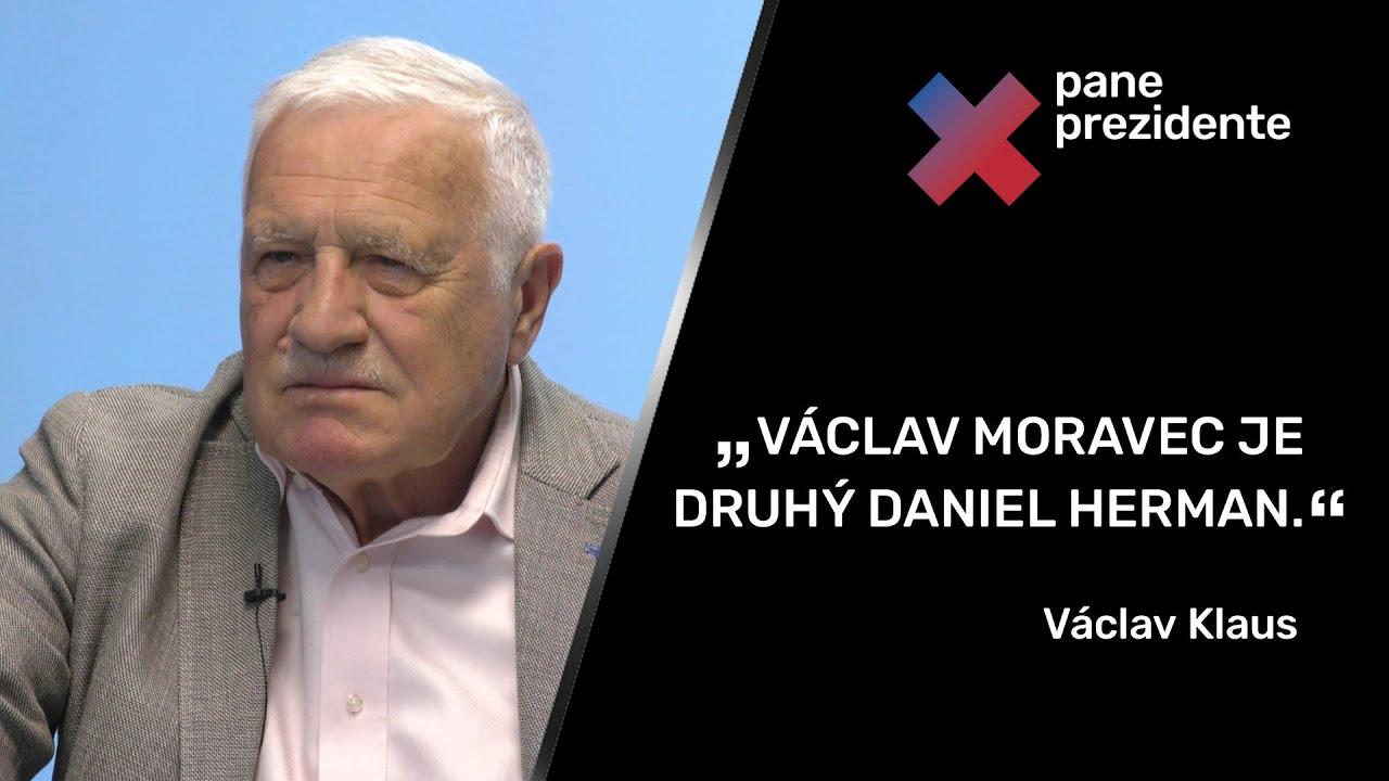 """""""Green Deal je levičácký nesmysl. Že se lékař olympioniků neočkoval, je drzost."""" – Václav Klaus"""