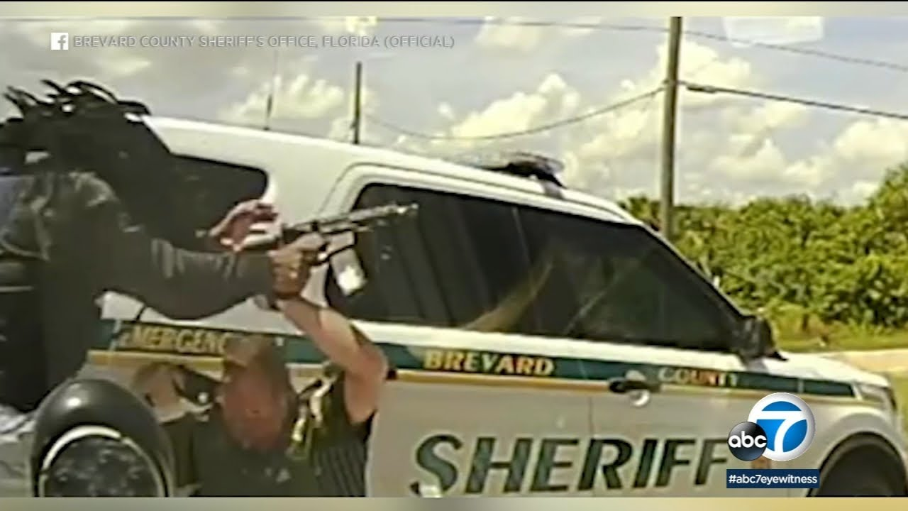 Deadly shootout with Florida deputies captured on dashcam | ABC7 Los Angeles