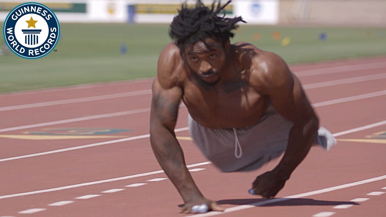 The fastest man on two hands – Guinness World Records