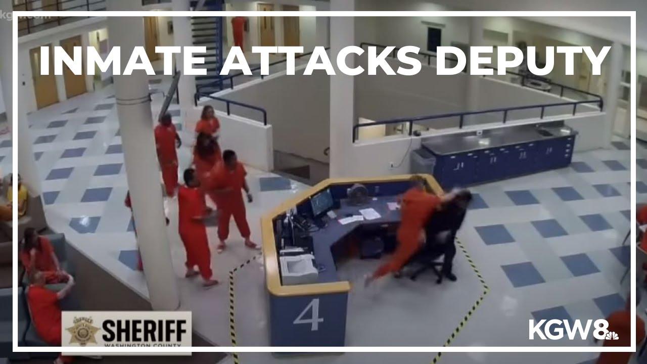Video: Inmate attacks deputy in Washington County jail